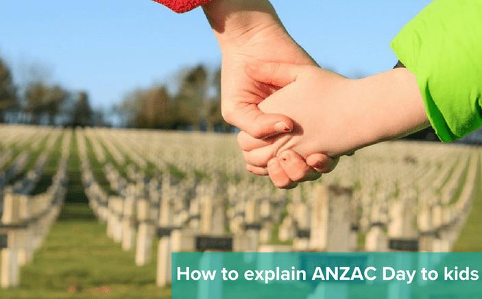 explaining anzac to kids