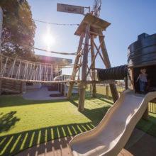 Sandstone point playground windmill