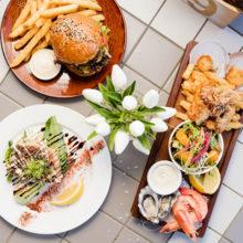 sandstone point hotel food platters
