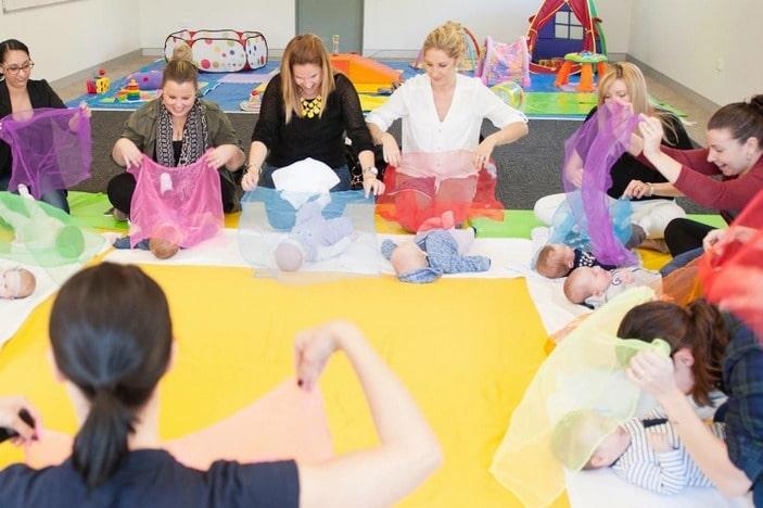 Baby Sensory, baby development classes
