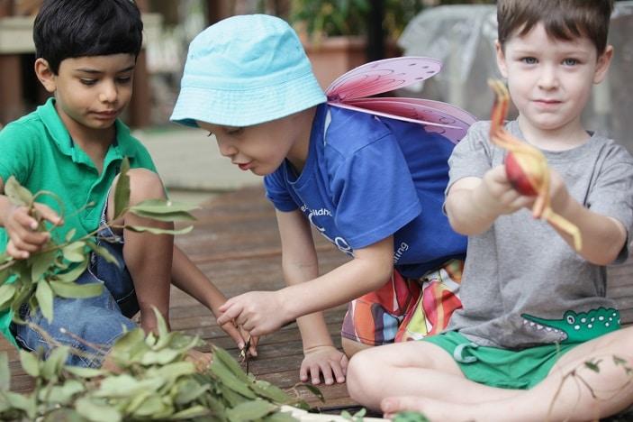 kids at mithcelton preschool