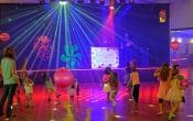 Kids dancing disco