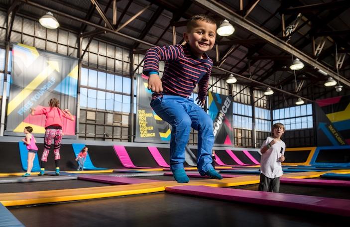 BOUNCE Inc, trampoline park, indoor fun centre