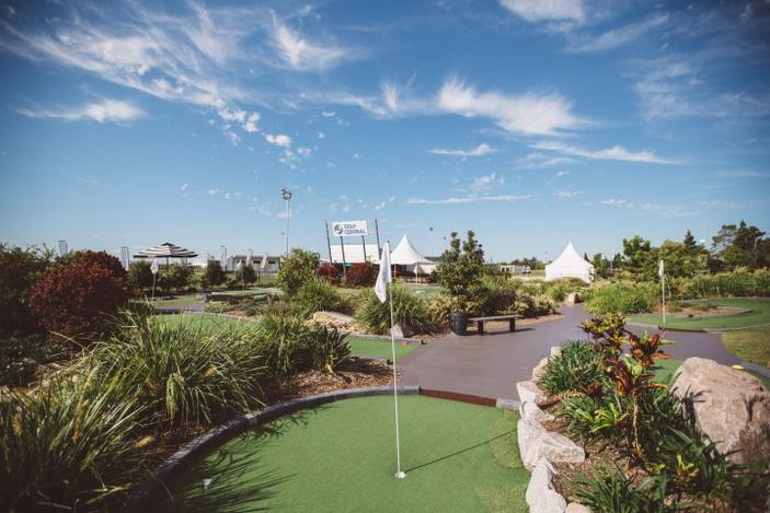Golf Central BNE, putt putt, mini golf in Brisbane