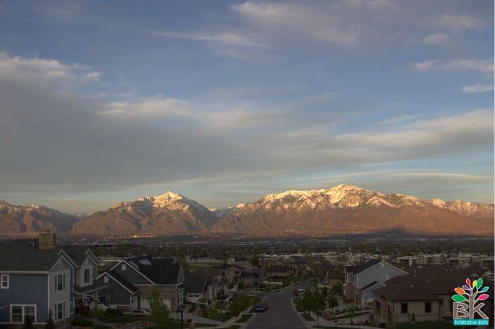 Salt Lake City in Utah
