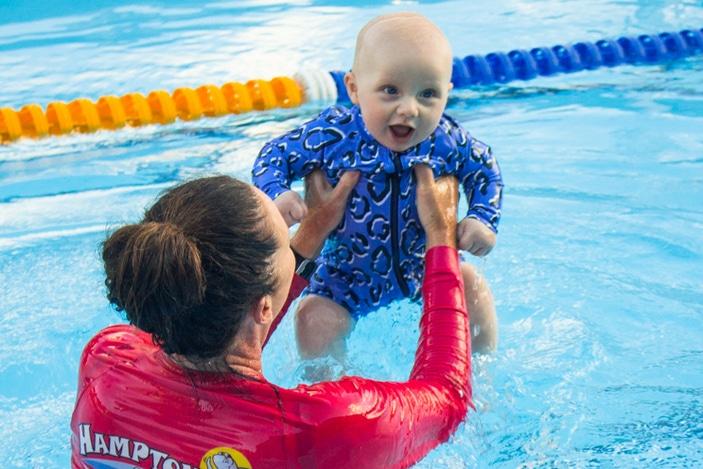 Hampton Swim School, learn to swim, swimming lessons