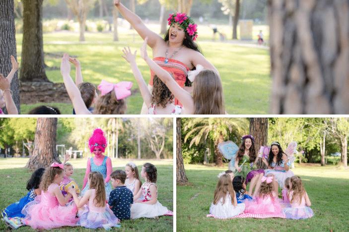 Princess Parties Australia, kids party entertainment