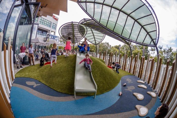 Westfield Carindale playground, shopping centre playground