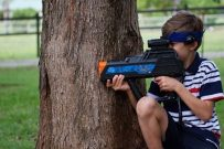 home laser tag parties