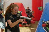 mobile laser tag game