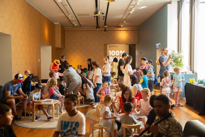 Museum of Brisbane, school holiday activities