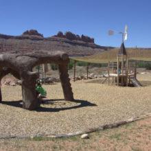 Moab Giants Dinosaur Park in Moab, Utah