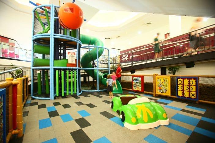 Strathpine Centre playground, shopping centre playground