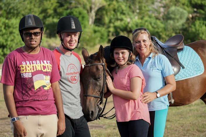 Equss Terra therapeutic horse riding
