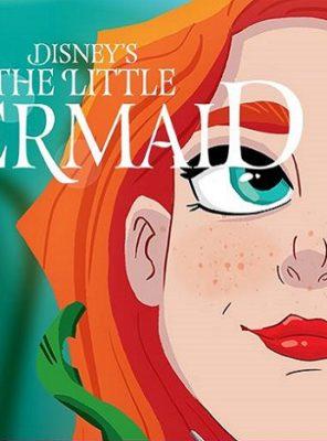 Ariel poster Brisbane Arts Theatre Disney's A Little Mermaid