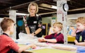 Tiny Art school holiday art workshops for kids