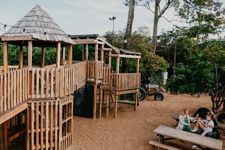 playground at Victoria Park