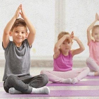 school holiday yoga