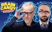 Adam Savage and Michael Stevens in Brain Candy Live Brisbane