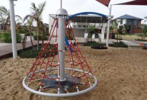 red climbing net for kids