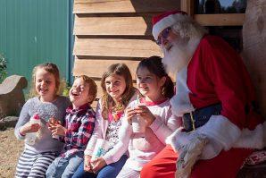 Santa at the Farm