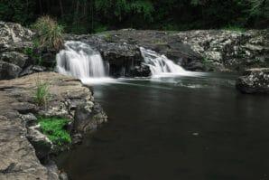 Gardners falls maleny waterfall