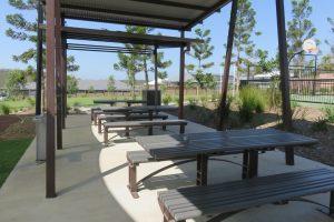 shaded picnic spot