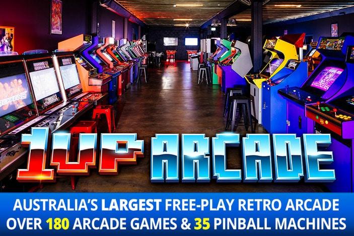 1Up Arcade stand up arcade machines