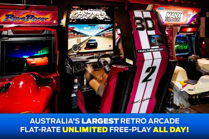 1Up Arcade racing game