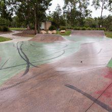 Teviot Park skate park obstacles