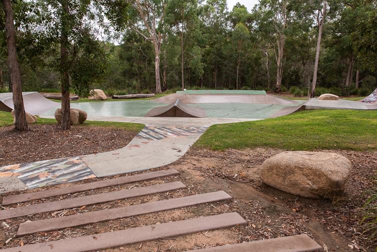 Teviot Park skate area