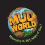 Mud World Festival, logo, world globe, mud