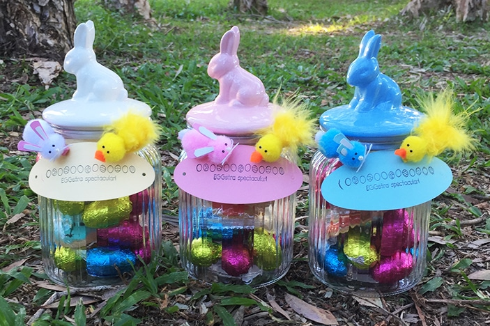 Easter craft idea bunny and chicken brisbane kids sometimes all your need to make an easter gift that little bit more fun and personal is an adorable handmade accessory that adorns it with love negle