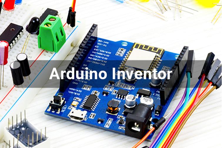 Arduino Inventor text over Arduino image