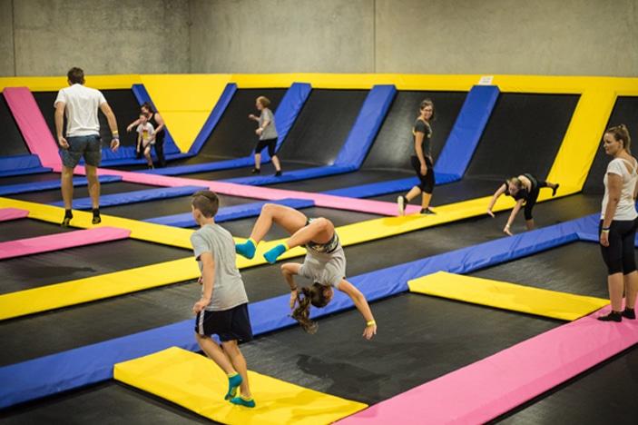 Revolution Sports Park, trampoline park, birthday parties