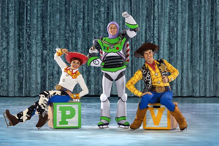 Disney on ice celebrates mickey and friends toy Story, woody, buzz and jessie