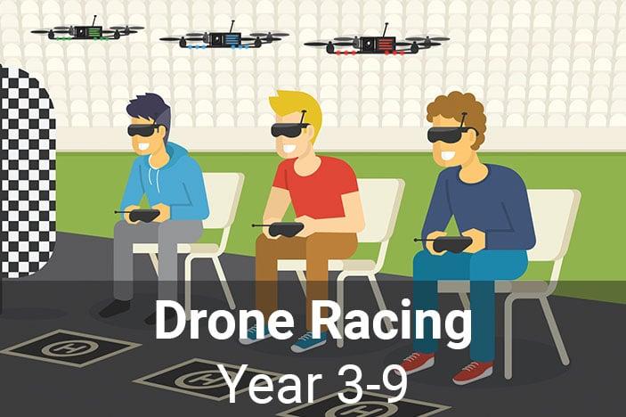STEMPunks, drone racing, school holiday classes