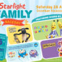 Giggle and Hoot, Bananas in pyjamas, shaoun the sheep and dirtgirl all for starlight charity raceday