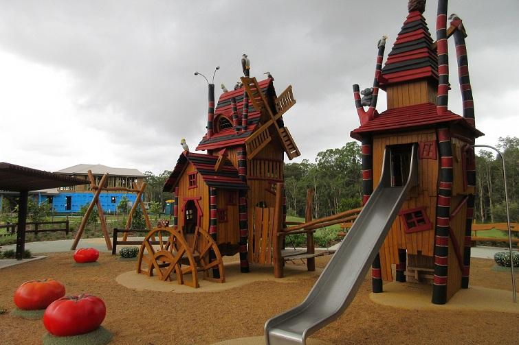 bray park farm playground in bray park