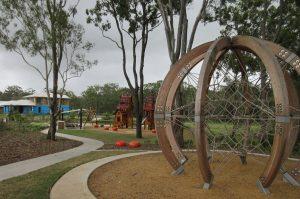 sculpture in bray farm park.