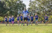 weetbix kids tryathlon, kids running, Commando Steve