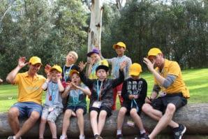 Group of Kookaburra Kids