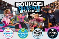 Bounce trampoline park, kids classes