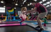 BOUNCE Inc, trampoline park, trampoline classes, gymnastics classes