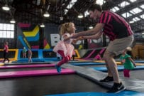 BOUNCE Inc, trampoline park, trampoline classes, gymnastics classes