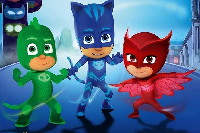 Owlette, Catboy, and Gekko, PJ Masks