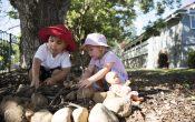 Hamilton Daycare, Outdoor Play