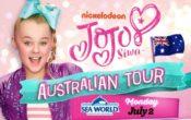 Jojo Siwa Australian tour, JoJo bow, nickelodeon, JoJo