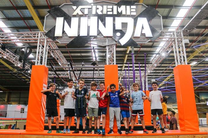 Xtreme Ninja course at Urban Xtreme
