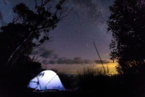 wtiner camping brisbane
